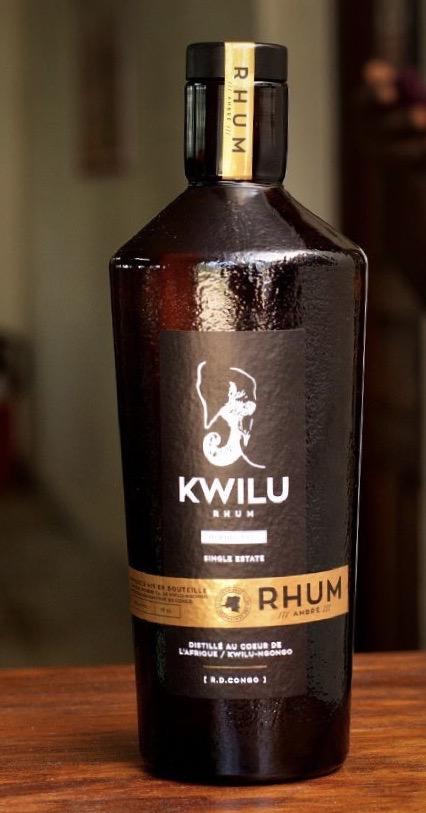 Rhum Kwilu Premium Ambré